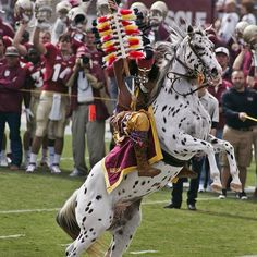 Best college mascot in the nation!