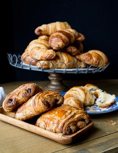pain-au-chocolat recipe.  Little French Bakery