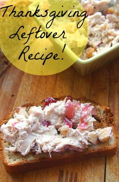 Sweet Turkey Salad : Thanksgiving Leftover Fix