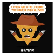 BWAAAH ! Tremblez face à Cheesy Krueger ! #fromage #halloween