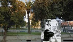 Near Villa Comunale, San Severo, Italy, as my father saw it during World War Two and a photo of the same place today. Present day photo courtesy of Saverio d'Incalci, San Severo, Italy | World War Two