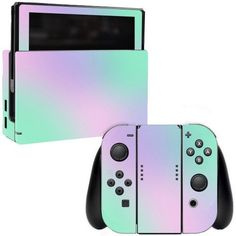 Skin Decal Wrap for Nintendo Switch sticker Cotton Candy (Pink) - Nintendo Switch Games - Trending Nintendo Switch Games - Skin Decal Wrap for Nintendo Switch sticker Cotton Candy (Pink) Console Style, Nintendo Switch Accessories, Gaming Room Setup, Gamer Room, Nintendo Switch Games, Pink Cotton Candy, Old Games, Skylanders, Cute Gif