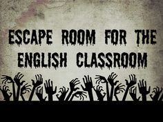 You need to try this escape room in your English classroom! Make students critically think to solve the puzzle! Middle School Ela, Middle School English, Middle School Classroom, Literacy Games Middle School, Literacy Centers, Ela Classroom, English Classroom, Classroom Ideas, English Teachers