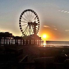 Sunset @ Scheveningen Beach #scheveningen #sunset #sunsetlover