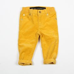 Berlin baby cord yellow - mini rodini