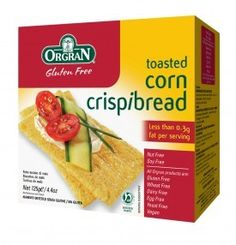Orgran Gluten Free Toasted Corn Crispibreads 125g Orgran Gluten Free Toasted Corn Crispibreads 125g: Express Chemist offer fast delivery and friendly, reliable service. Buy Orgran Gluten Free Toasted Corn Crispibreads 125g online from Express Chemist http://www.MightGet.com/january-2017-11/orgran-gluten-free-toasted-corn-crispibreads-125g.asp