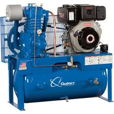 Cr1437093274g 921403 pixels model diesel shops pinterest 549999 quincy compressor qp pressure lubricated reciprocating air compressor 10 hp yanmar diesel engine fandeluxe Choice Image