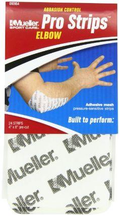 Mueller Pro Strips Elbow 4 Inch x 8 Inch 24-Count #deals