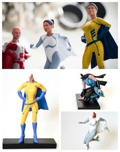 Custom action figure superheroes that look like you:  Awesome gift!