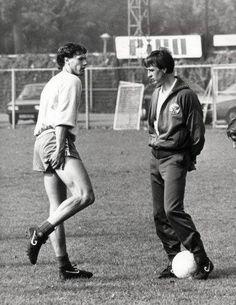 with Van Basten.