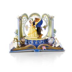 Beauty and the Beast Water Globe