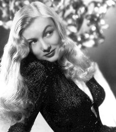 "veronica lake    Paramount cast Lake in a string of mostly forgotten films. A notable exception was The Blue Dahlia (1946) in which she again co-starred with Alan Ladd (who reportedly was also less than fond of her). During filming, author Raymond Chandler referred to her as ""Moronica Lake"". Paramount decided not to renew her contract in 1948."