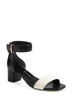 It's all about the block heel for Spring/Summer 2014. Tory Burch 'Tana' Sandal