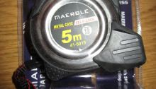 Heavy Duty Tape Measure – By Maerble – Product Review
