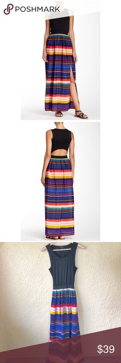 59b7bf9fdbab Felicity and Coco Cutout Maxi Stripe Dress Small From Felicity and Coco,  this pretty maxi