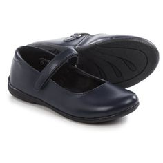 Umi School Lana II Mary Jane Shoe Shoes - Vegan Leather (For Little and Big Girls) in Navy