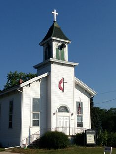Wisconsin country church