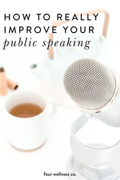How To Overcome Your Fear Of Public Speaking | Self Confidence | Are you preparing for a speech but feeling terrified? Click to learn the best way to improve your public speaking skills and why speaking in public is a great way to develop both personally and professionally. | Personal Development | Four Wellness Co. #publicspeaking #speech #selfconfidence #personalgrowth #toastmasters