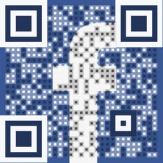 'Like' me on Facebook. Just scan with your mobile device!