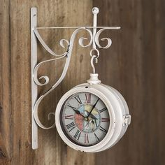 24 Best Vintage Clocks Images In 2020 Antique Farmhouse