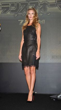 """Rosie Huntington-Whiteley attends the """"Transformers: Dark of the Moon"""" press conference in Osaka, Japan"""