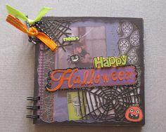 paperandco: Happy Halloween Mini Books, Happy Halloween, Frame, Decor, Picture Frame, A Frame, Decorating, Dekoration, Frames