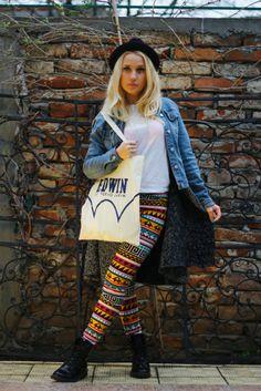 OOTD – Printed jeans