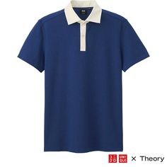 """This men's polo shirt is from our collaboration with Theory featuring """"innovative everyday fashions combining sophistication and quality"""". All…"""