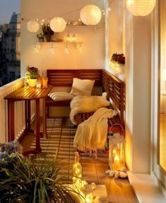 Comfortable apartments with balcony decoration, … – Balkon Deko Ideen – Balcony Apartment Balcony Garden, Apartment Balcony Decorating, Apartment Balconies, Cool Apartments, Apartment Living, Apartment Design, Living Rooms, Apartment Porch, Small Balcony Decor