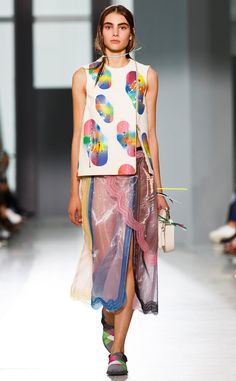 Christopher Kane, London from 100 Best Fashion Week Looks from All the Spring 2016 Collections