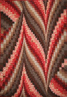 Bargello Quilt - via @Craftsy       some day