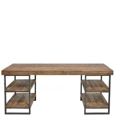 Wood Industry Desk - Desks - Home Office - Furniture