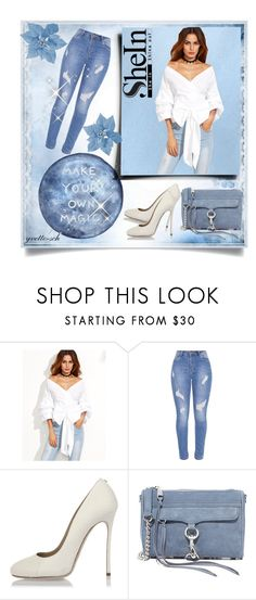 """""""Make Your Own Magic"""" by yvette-sch ❤ liked on Polyvore featuring WithChic, Dsquared2 and Rebecca Minkoff"""