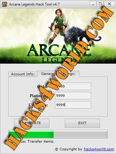 Arcane Legends Hack for iOS and Android download from: http://hacks4world.com/arcane-legends-hack/  Arcane Legends Hack Features: Gold generator Platinum generator Upgrades generator   Arcane Legends Hack for iOS and Android download from: http://hacks4world.com/arcane-legends-hack/