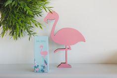 000 - miami flamingo medium hoog zakje