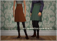 TRAPPING - Download - Io's Skirt With Docs for EF & TF