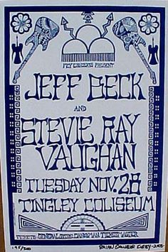Jeff Beck + Stevie Ray Vaughan -Best show I ever saw.