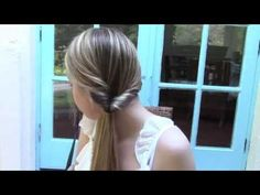 4 Penteados Fáceis - Tutorial - YouTube