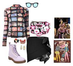 """Inspiration: Thrift Store Divas"" by skeletorsmom ❤ liked on Polyvore featuring moda, Hadaki, Walter Van Beirendonck, Anthony Vaccarello, Crap, Dr. Martens, Forever 21, Karl Lagerfeld e The Bradford Exchange"