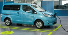 Electric Nissan e-NV200 in Europe Will Start in The Course of June
