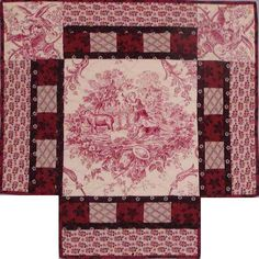 medallion doll quilt for a 4 poster doll bed. This site has doll quilt patterns! Old Quilts, Antique Quilts, Small Quilts, Mini Quilts, Vintage Quilts, Baby Quilts, Crib Quilts, Dollhouse Quilt, Dollhouse Miniatures