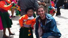 Volunteer in Cusco visiting Puno