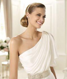 #Greek Style Wedding Dress ~ Wedding Ideas