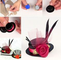 Lovely-Hair-Accessories-from-Bottle-Caps-DIY