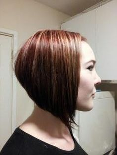 Cut and colour created by Louisa Scissors Harper