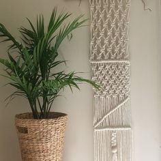 Macrame Wall Hanging by iAMMeDesign on Etsy