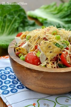 Mexican Ranch Chicken Salad from The Seasoned Mom
