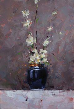 Echoing Silence by Tibor Nagy Oil ~ 23,6 x 15,7