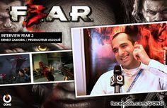 GONG [FEAR 3] - Rencontre avec Ernest Zamora, producteur associé du jeu vidéo ! http://gong.fr