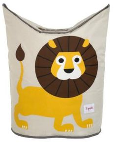 3 Sprouts Animals laundry hamper